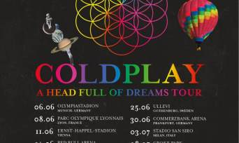 Coldplay Tickets - Vienna  2017