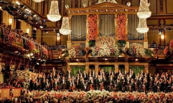 Tickets to New Year´s Concert Vienna Philharmonic at Musikverein - Golden Hall 2016/2017